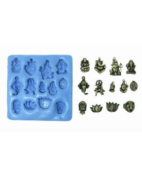 Divine Temple Idols Mould Pad