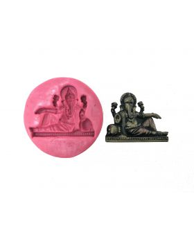 Relaxing Ganesha Temple Mould