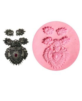 Peacock Design Pendant Mould