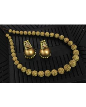 Rudraksha Tales Terracotta Jewellery Set