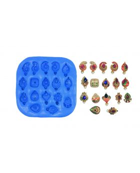 Ethnic Designers Studs Mould pad
