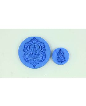 Blissful Lakshmi Pendant Temple Mould (Set)