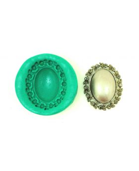 Dome Spring Pendant Floral Mould