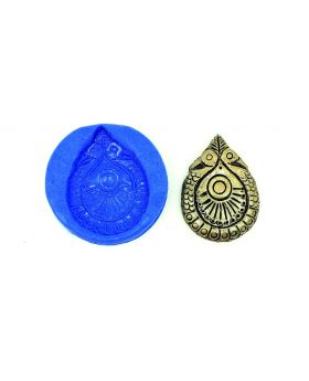 Mayoora Tear Drop Pendant Temple Mould