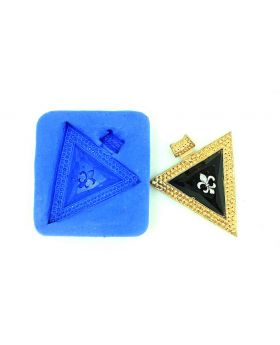Triangle Design Pendant Mould