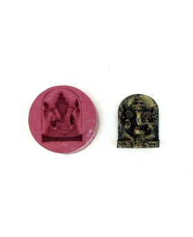 Blissful Ganesha Temple Mould