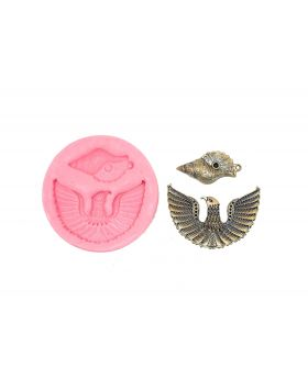 Garuda Spreading Wings Pendant Bird Mould