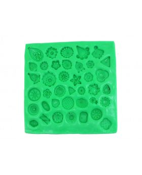 Assorted Small Studs Mould Pad