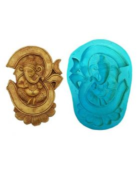 Om Ganesha Big Size Idol Mould