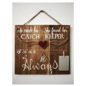 RNR1013 Personalised Wooden Board