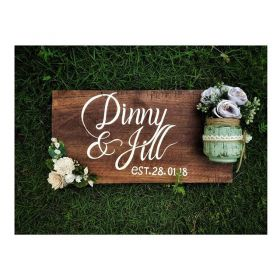 RNR1002 Personalised Wooden Plaque