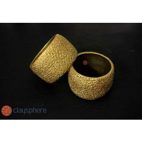 Golden Kada Terracotta Bangle