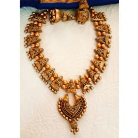 Golden Garland Terracotta Choker Set