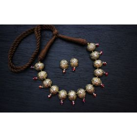 Demi Choker Terracotta Jewellery (Antique Bronze)